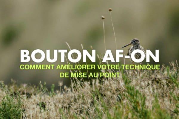 Bouton AF ON