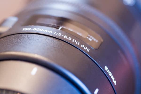 Sigma 150-600 mm - Mise au point
