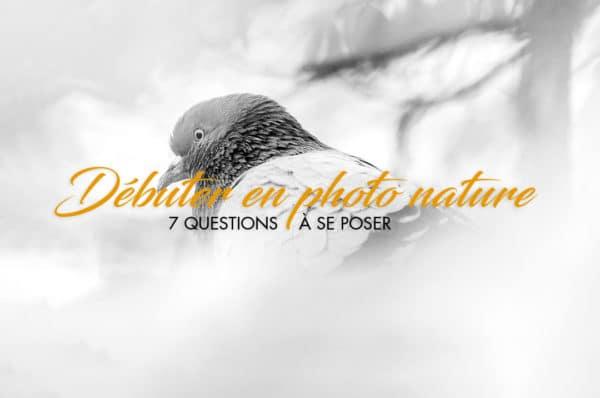 débuter en photographie de Nature